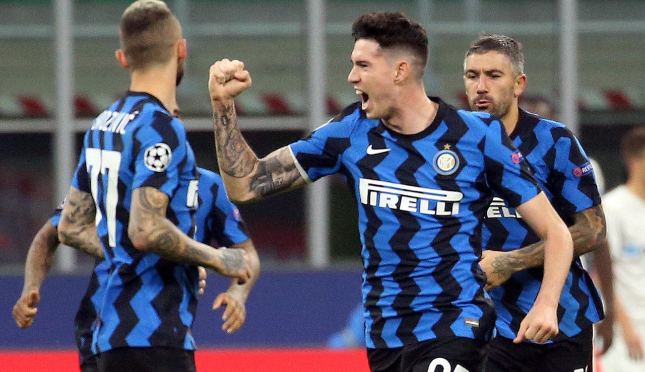 Inter defender Alessandro Bastoni