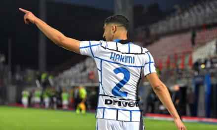 Inter won't accept Hakimi player exchange