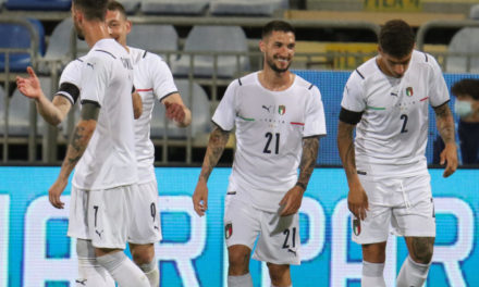 Italy 7-0 San Marino: Pessina and Politano with two each