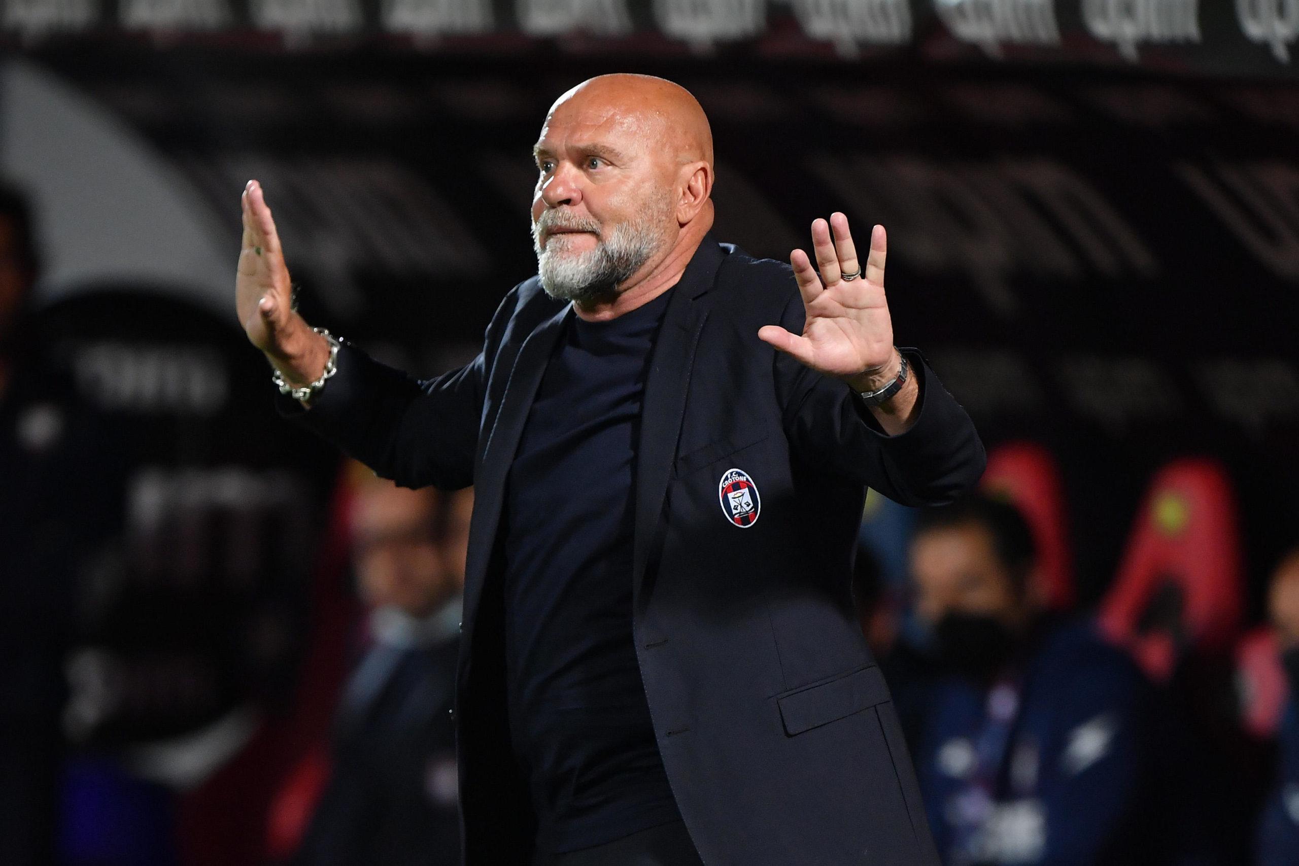 Crotone coach Serse Cosmi