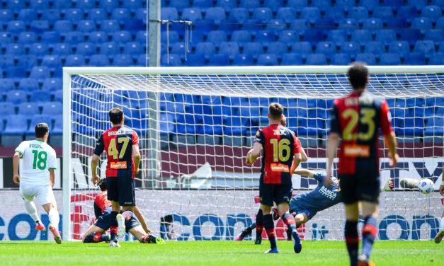 Genoa 1 – 2 Sassuolo – Neroverdi continue chase for Europe