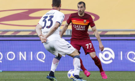 Mkhitaryan vows to give all to make Roma 'protagonists'