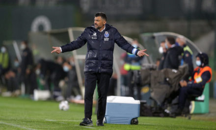 Conceicao: 'Porto deserved more than 1-0 against Milan'