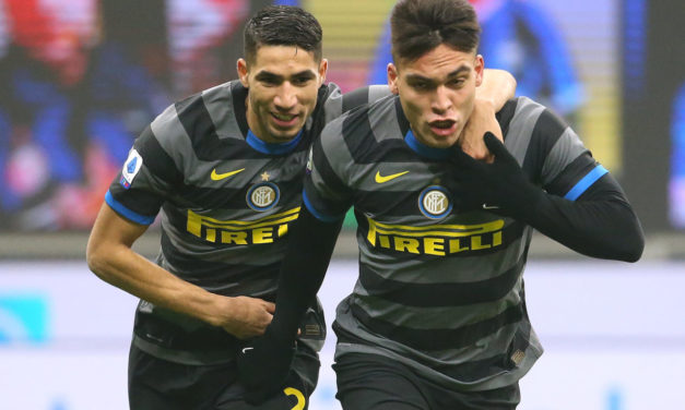 Agent: 'Hakimi could leave Inter, not Lautaro'
