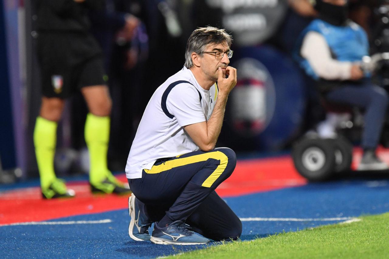 El entrenador del Verona, Ivan Juric