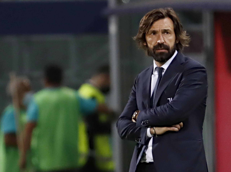 Juventus coach Andrea Pirlo