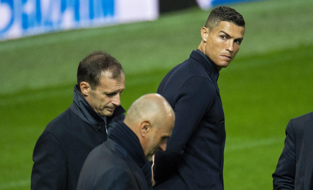 Cristiano Ronaldo Max Allegri