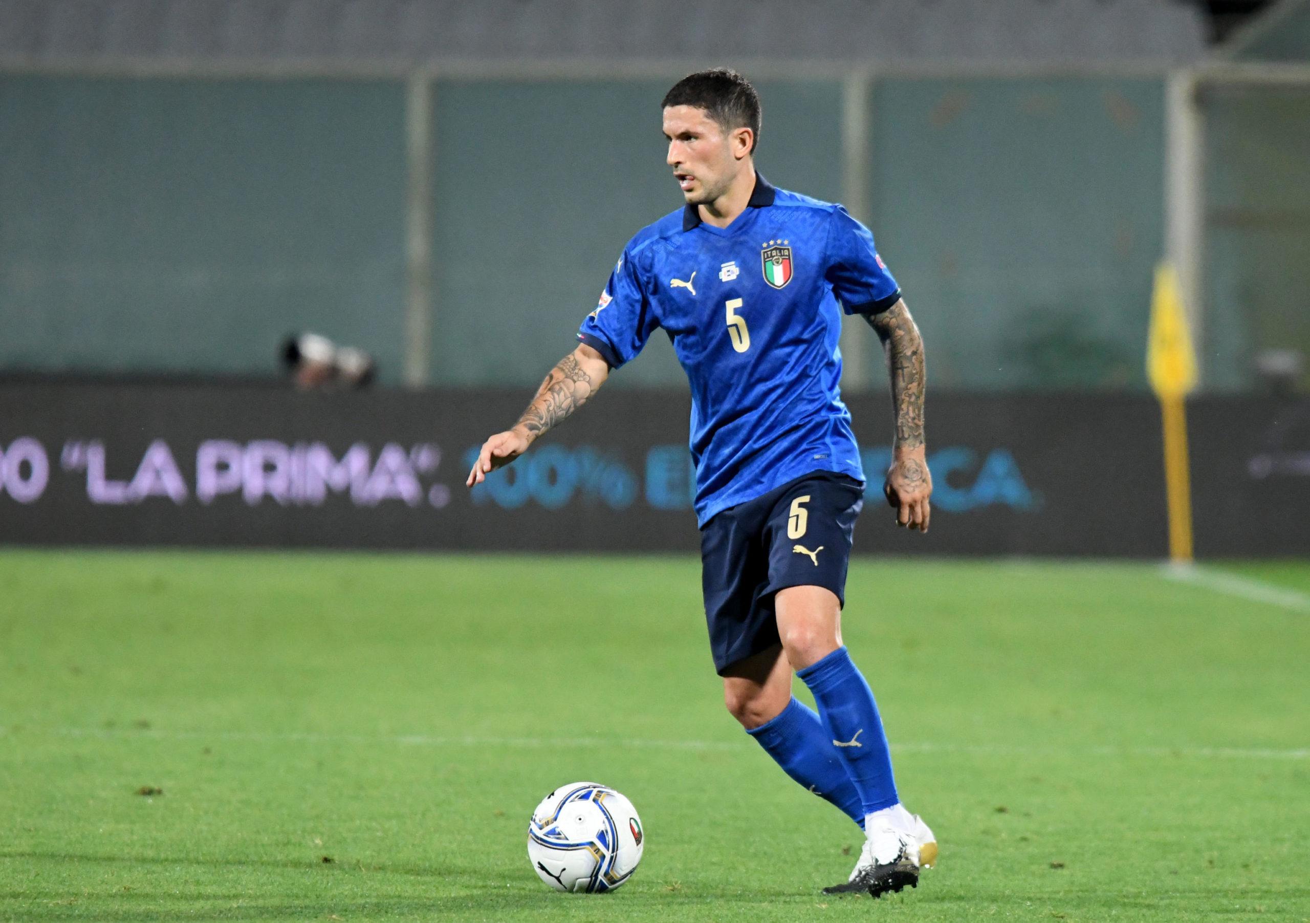 Stefano Sensi in action for Italy against Bosnia-Herzegovina