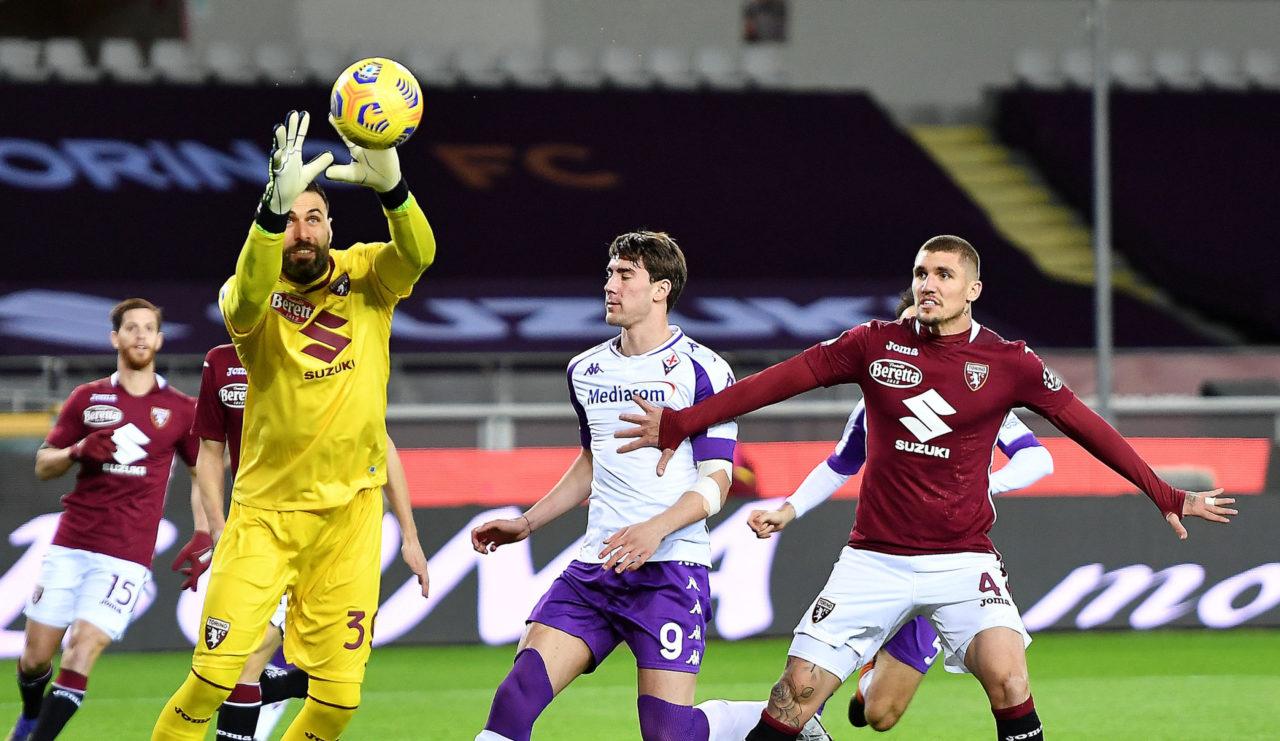 Torino goalkeeper Salvatore Sirigu