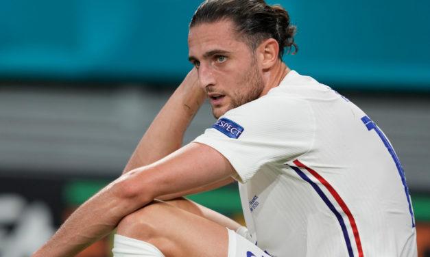 Juventus: Rabiot picks up muscle injury