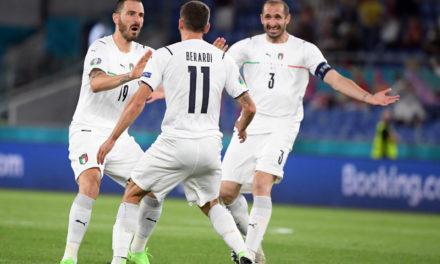 Bonucci hails Italy team spirit