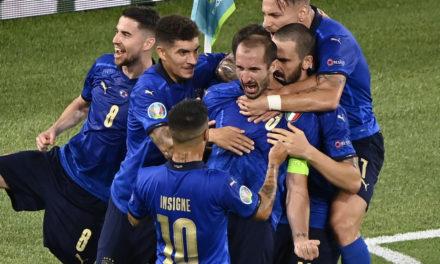 Chiellini: 'Italy make it feel easy'