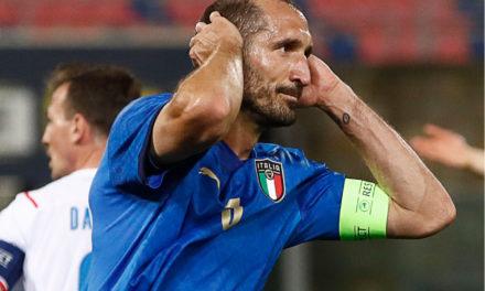 Chiellini: 'Italia necesita un tiempo para ponerse en marcha'
