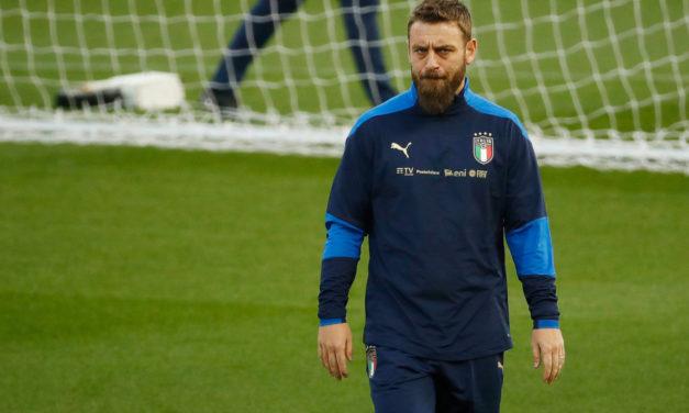 De Rossi: 'Creo que algún día entrenaré a la Roma'