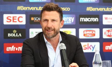 Di Francesco wants to build on Juric's Verona