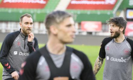 Schone struggles to speak about Eriksen's collapse