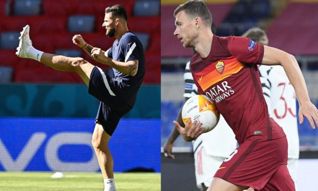 Milan want to speed up Giroud move, Dzeko the alternative?