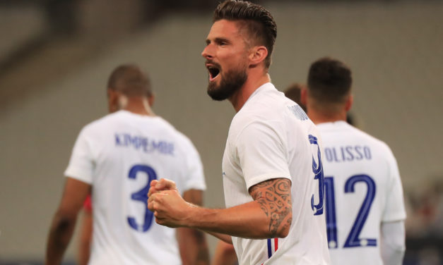 Giroud could get his first Milan game against Nice this weekend