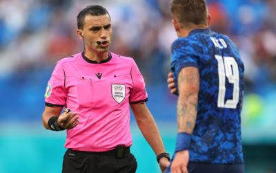 Hategan referee for Italy v Wales