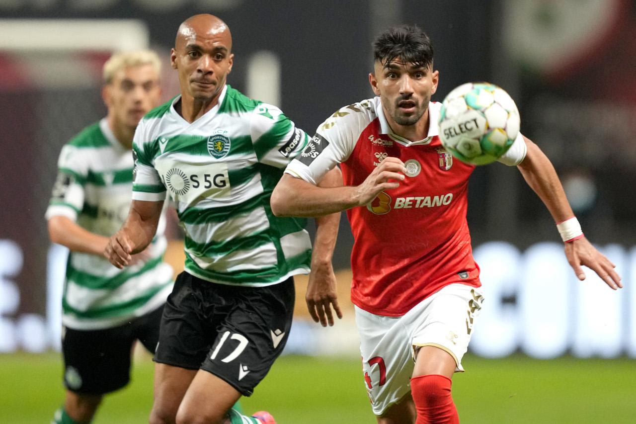 Joao Mario for Sporting v Braga
