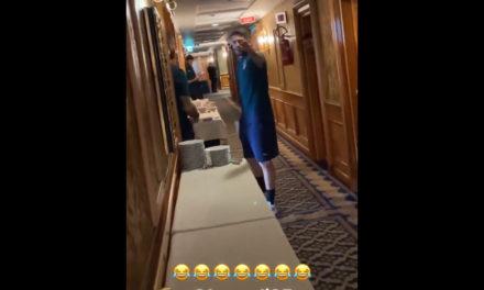 Video: Jorginho mocks Berardi and Donnarumma