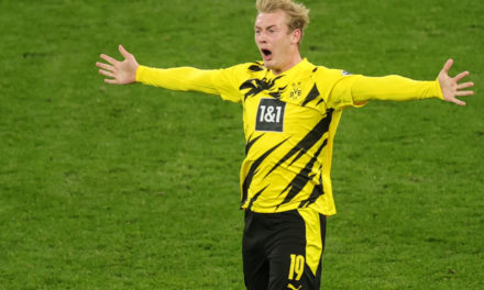 Brandt quashed rumours of a move to Italy