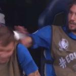 Video: Locatelli in no mood for Barella shenanigans