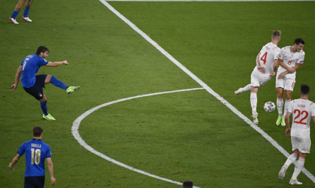 Italy 3-0 Switzerland: Locatelli lights up Italy