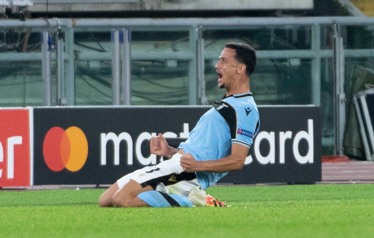 Lazio defender Luiz Felipe