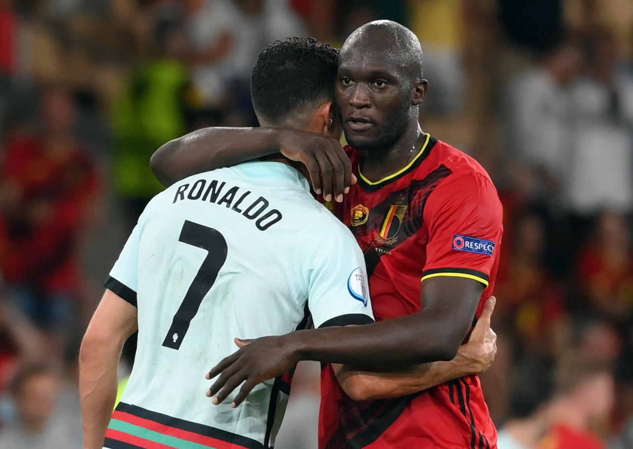 Romelu Lukaku Belgium Cristiano Ronaldo Portugal