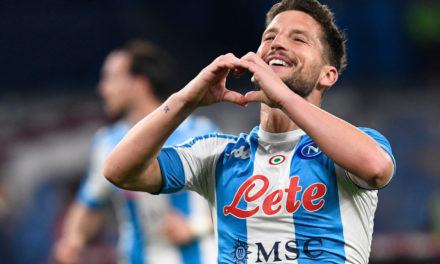 Inter Miami approach Napoli striker Mertens