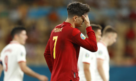 Morata: 'People waiting to pile on Spain'