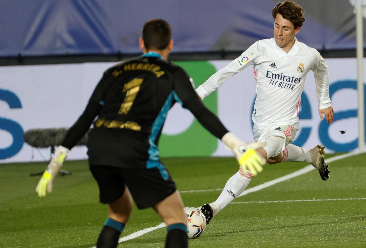 Alvaro Odriozola Real Madrid