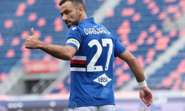 Quagliarella continues at Samp: 'I'm proud and honoured'