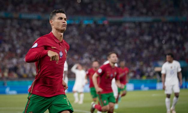 Watch: Ronaldo equals Ali Daei record