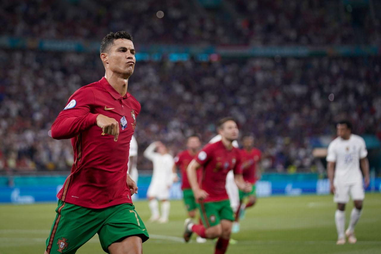 Cristiano Ronaldo Portugal France