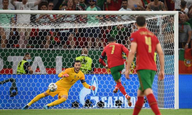 Watch: Ronaldo makes history again