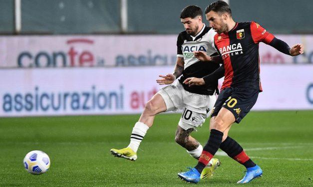 Genoa and Cagliari battle for Strootman
