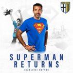 Watch: Buffon returns to Parma