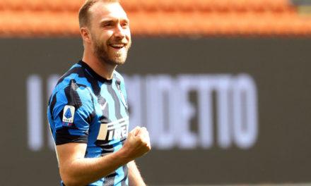 Inter: club write open letter to Eriksen