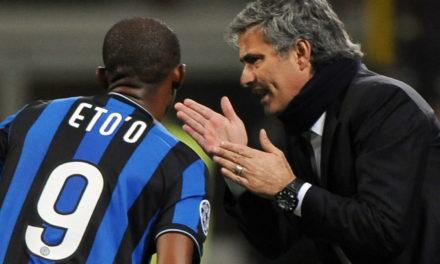 Eto'o: 'It hurts to see Mourinho at Roma'