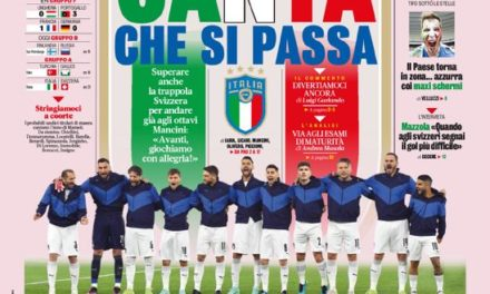 Today's Papers – Italy face Switzerland with joy, CR7 records