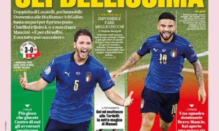 Today's Papers – Locatelli brings Italy joy, Gattuso shock