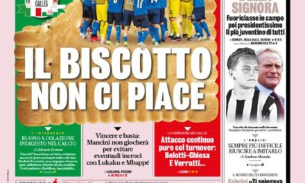 Today's Papers – Italy go for Wales, Juve mourn Boniperti