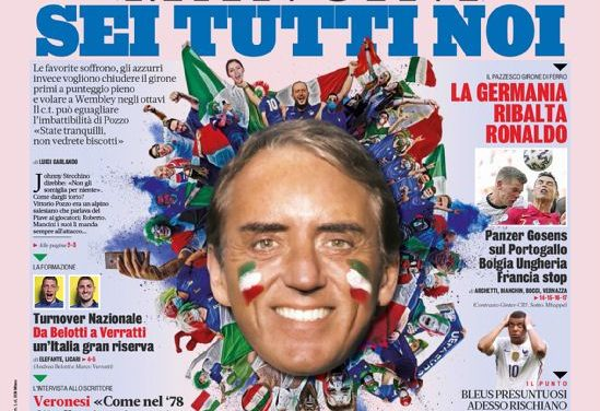 Today's Papers – Italy want a full house, Spain and France stutter