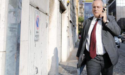 Lotito in 'heated confrontation' with Lazio players