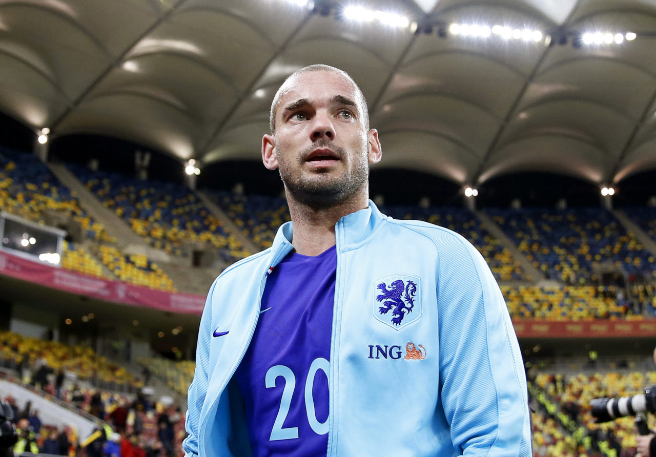 Wesley Sneijder for Holland