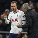Mourinho 'cried and prayed' for Eriksen