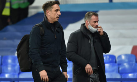 'Which games are they watching?' Italy fans hit back at Neville and Vieira
