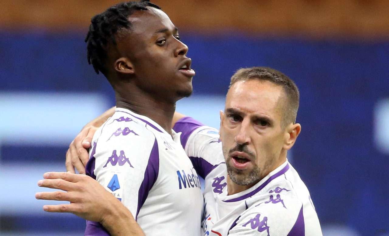 Kouame and Ribery